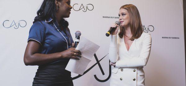 Cajo lança sua coleção Verão 2017 com a presença de Marina Ruy Barbosa